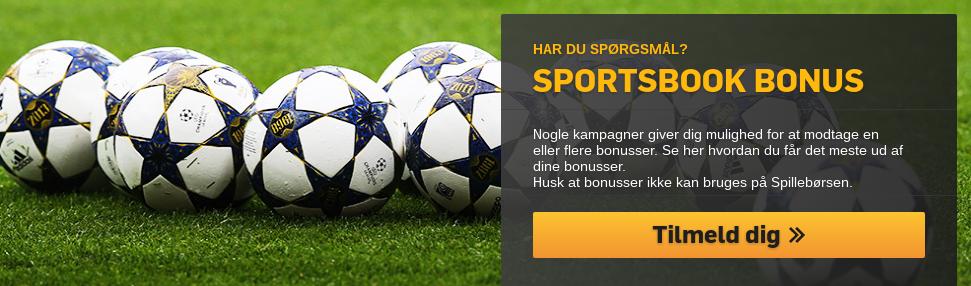 Få din Betfair Sportsbook bonus