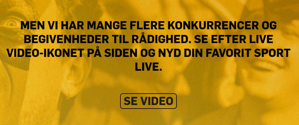 Prøv Betfair live streaming - helt gratis!