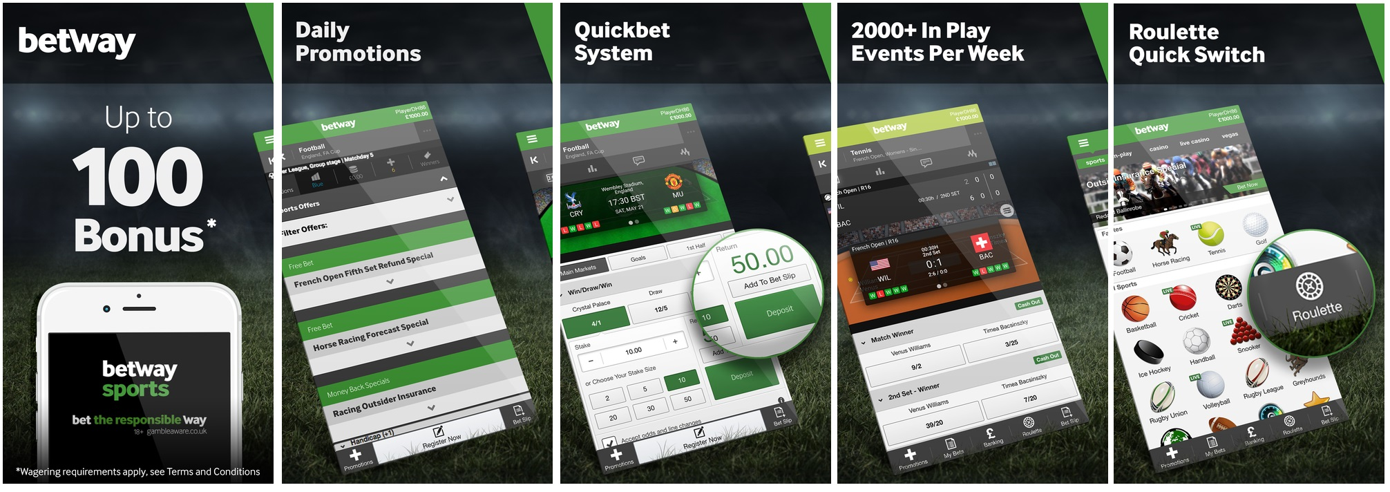 Betway app - betting on Betway Mobile