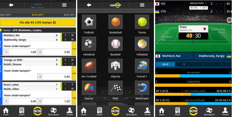 Prøv Cashpoint mobil appen i dag!