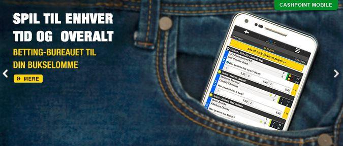 Spil på farten med Cashpoint mobil