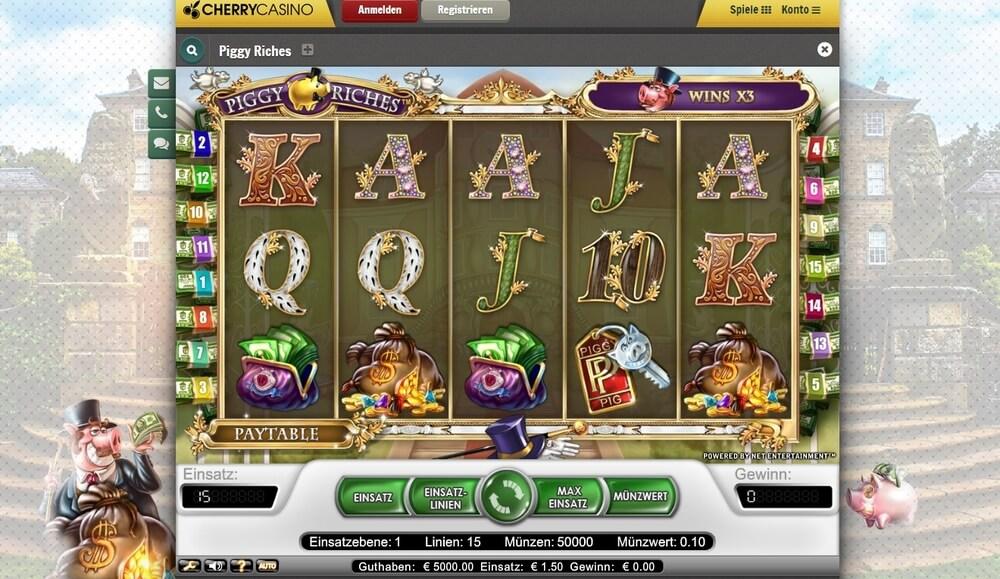 Cherry Casino Piggy Riches