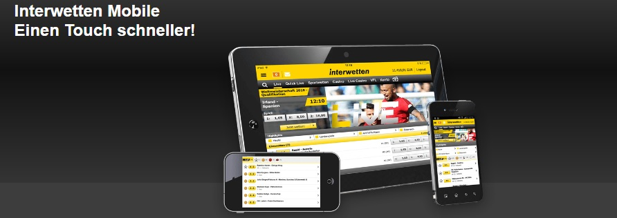 Interwetten Mobile Version