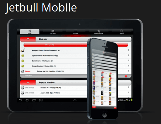 Spil på farten med Jetbull mobil