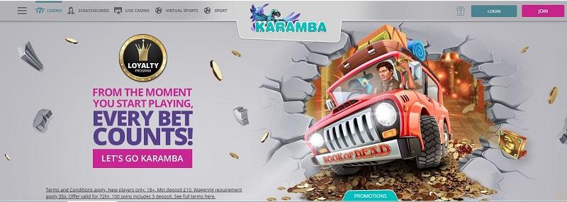 Karamba Casino Bonus Code