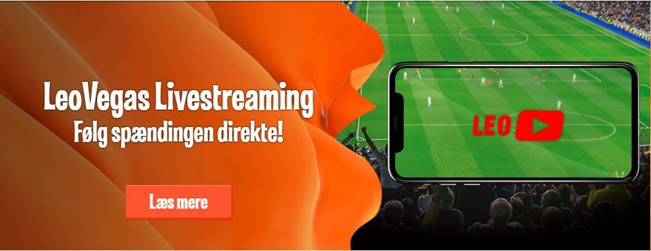 Se gratis sport med LeoVegas streaming!