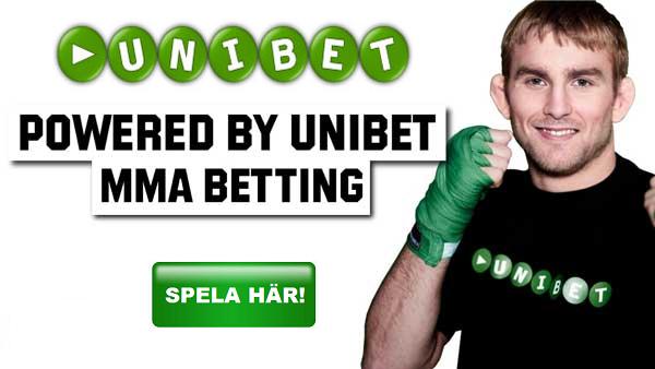 MMA Tips - Odds Unibet