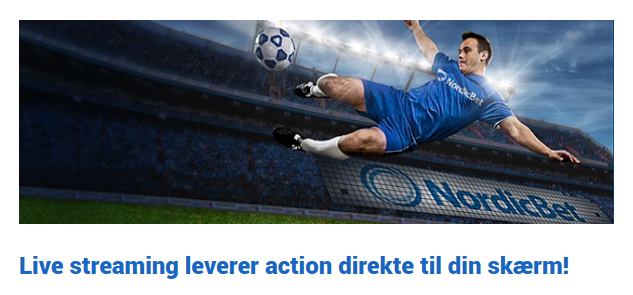 Gratis live streaming med NordicBet live betting