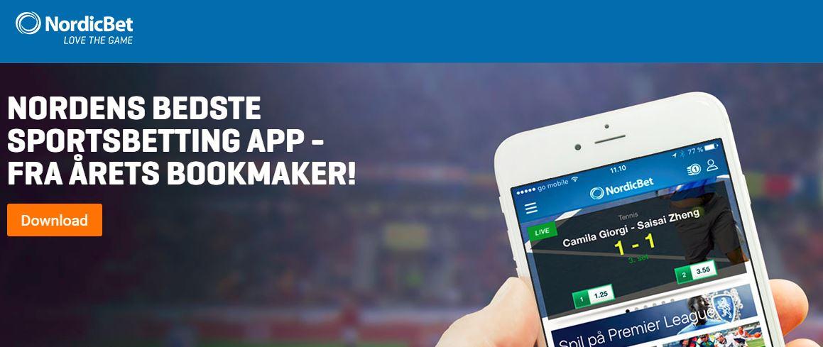 NordicBet mobil bonus