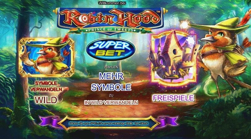 Thrills Casino Spiel Robin Hood (Screenshot)