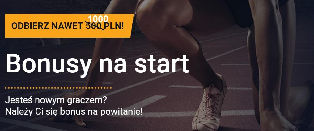 STS bonus 2018: 1000 zł na start!