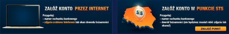 STS - rejestracja online i w punkcie naziemnym