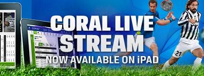 Coral live stream