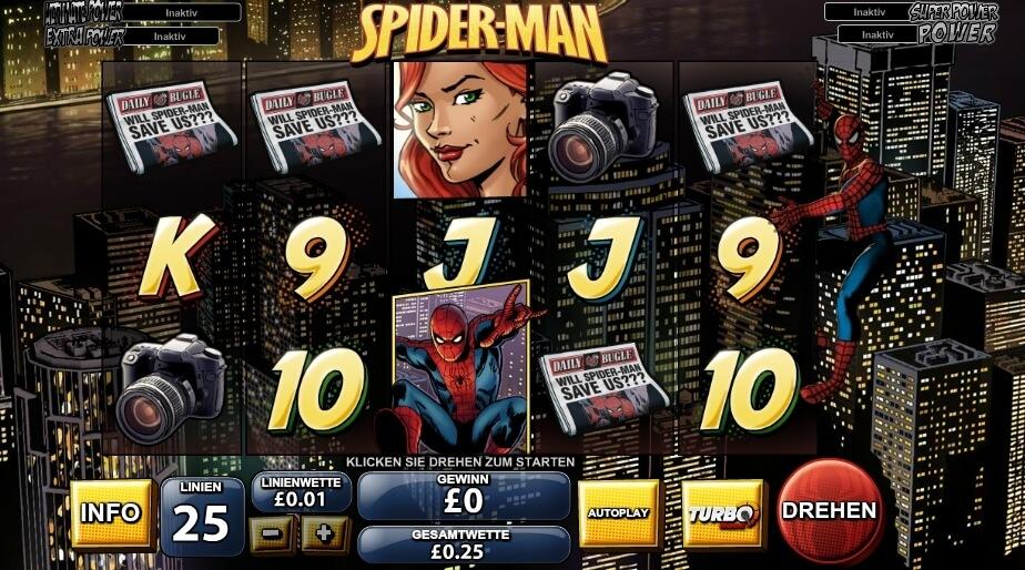 Spiderman Spielautomat