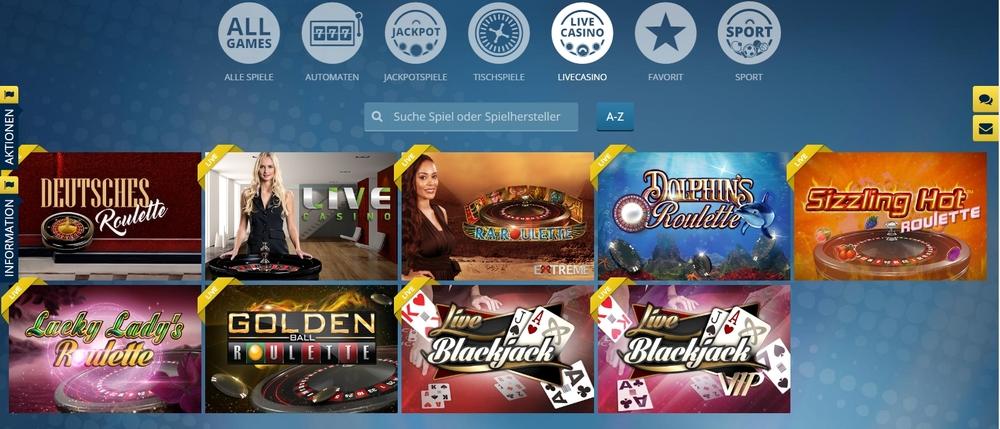 Sunmaker Live Casino