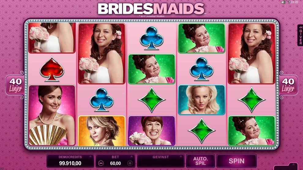 Bridemaids spilleautomat