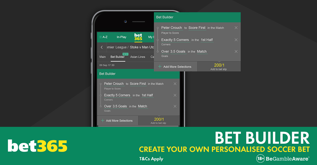 what is bet365 bet builder?