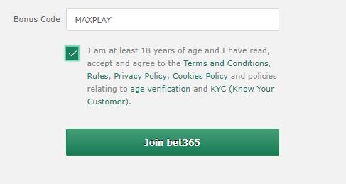bet365 bonus code - bettingexpert