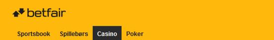 Betfair Casino Anmeldelse