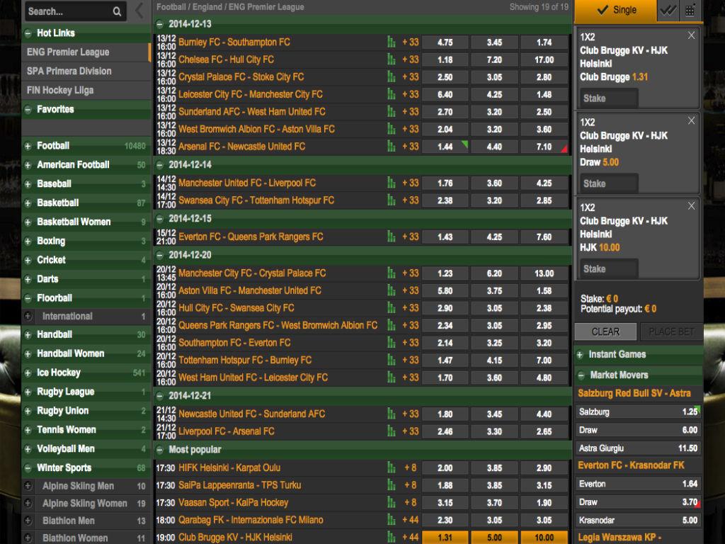Bethard sport betting