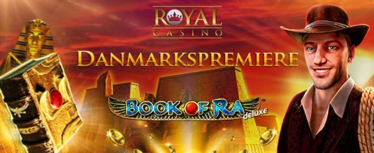 Book of Ra Spillemaskine hos Royal Casino