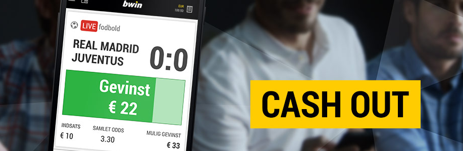 Cash out via bwin mobil