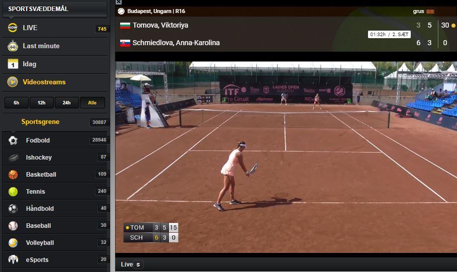 Se gratis sport med Cashpoint live streaming