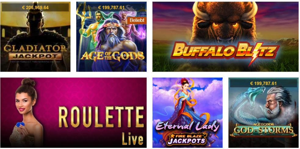 Casino tropez spiele