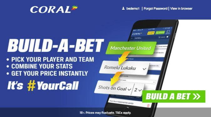 Coral Mobile Build A Bet