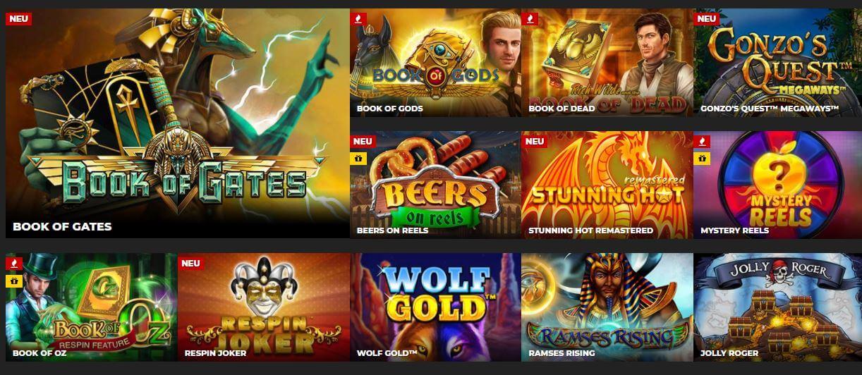Energy Casino spiele
