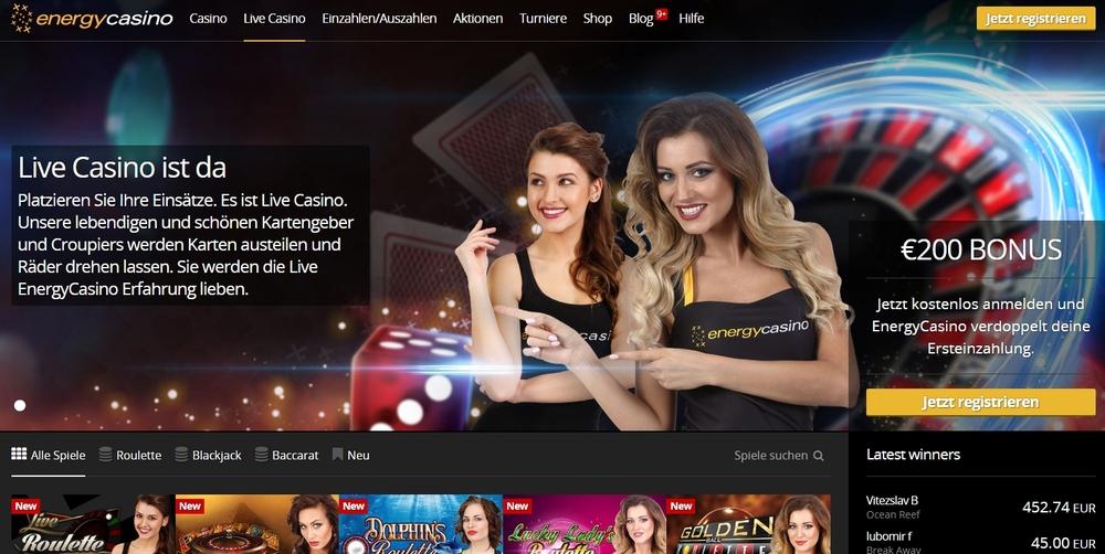EnergyCasino Live-Casino