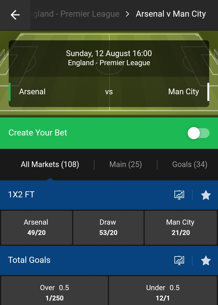 10bet mobile stats