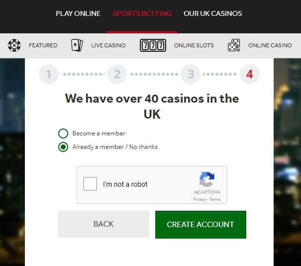 genting bet sign up
