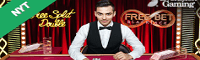 Live Blackjack casino kortspil