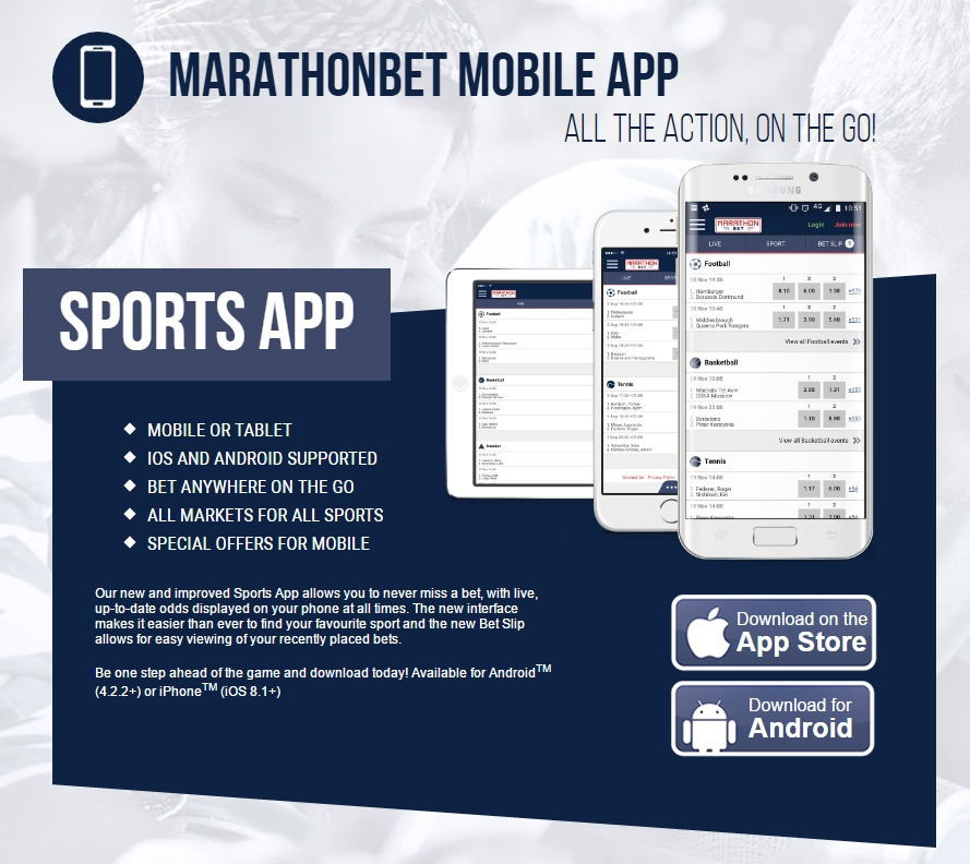Marathonbet Mobile Betting