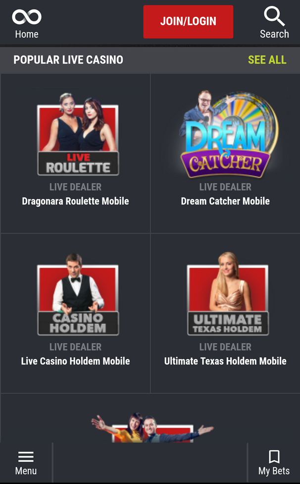 Mobile Casino at Matchbook Casino