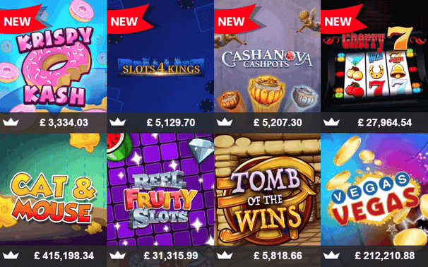mFortune slot games