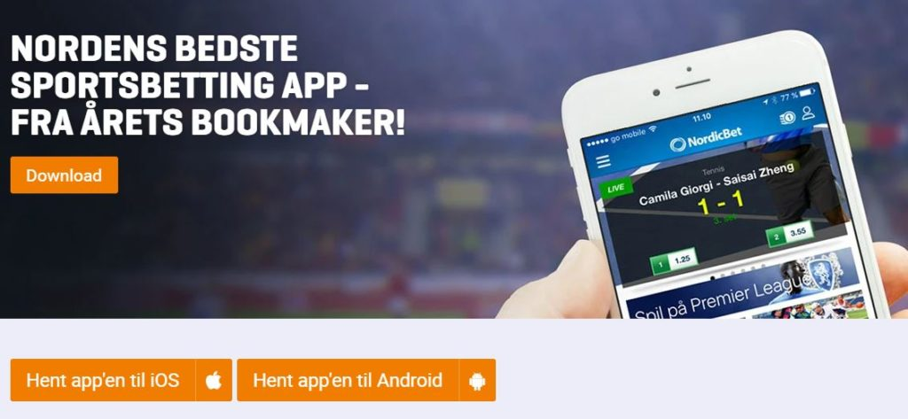 NordicBet app download