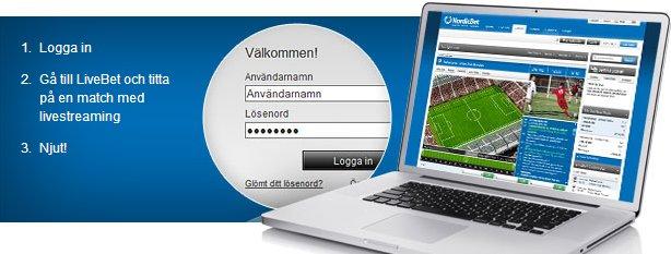 NordicBet Livestream