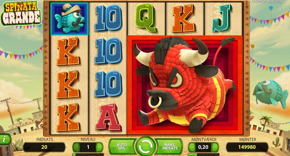 Spinata Grande - Rød25 Casino spilleautomat