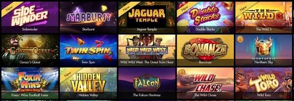 Slots Games at Bethard Casino