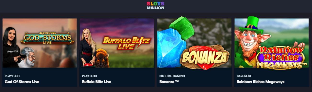 Slotsmillion spiele