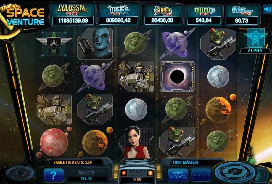 SpaceVenture spilleautomat