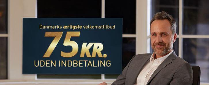 Spillehallen bonus: 75 kr. + 100 kr.