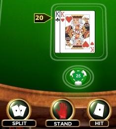 blackjack regole