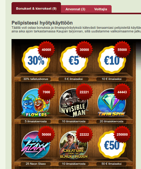 Suomikasino kauppa