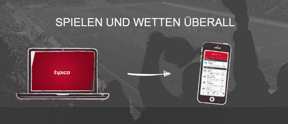 Tipico Mobile Website