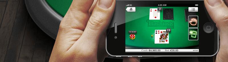 Unibet Casino bonus mobil
